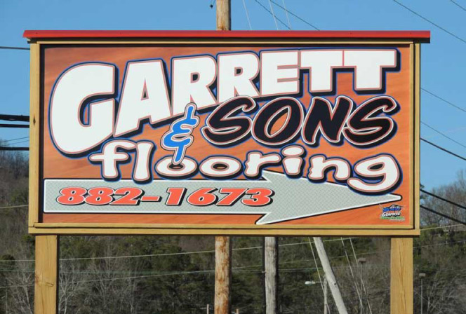 Garrett and Sons Sign